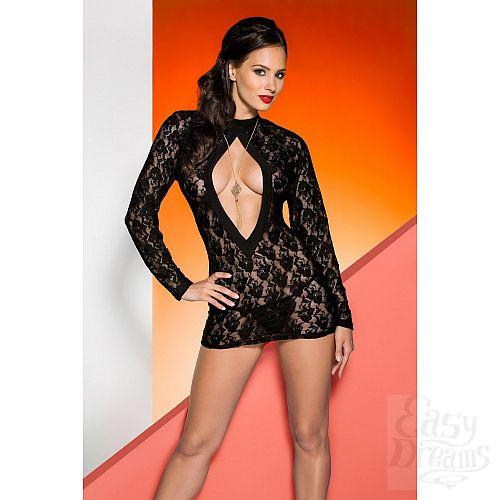 Фотография 1:  Кружевное платье Rayen с длинными рукавами