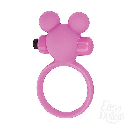Фотография 1: Toyz4lovers Эрекционное виброкольцо Teddy розовое T4L-801785