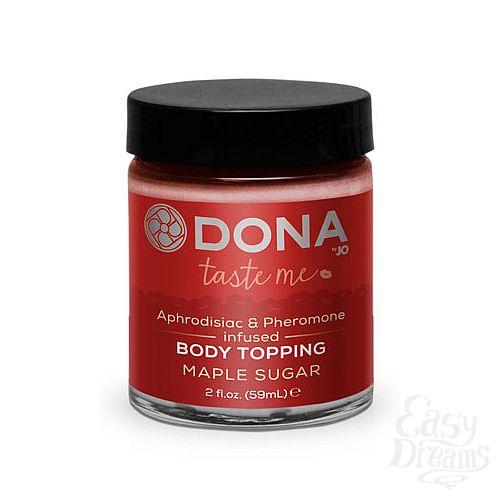Фотография 1: DONA Карамель для тела DONA Body Topping Maple Sugar 59 мл
