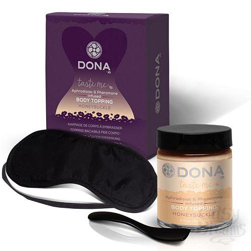 Фотография 2  Топпинг для тела DONA Honeysuckle с ароматом жимолости - 59 мл.