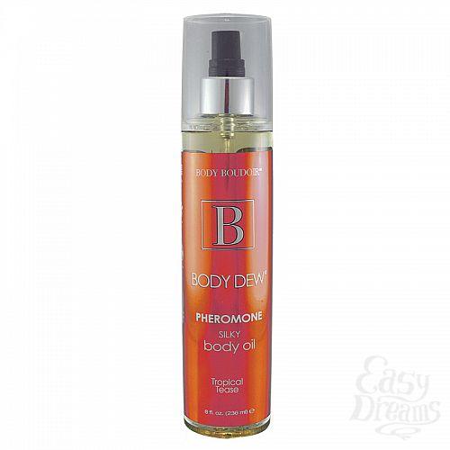 Фотография 1:  Масло для тела с феромонами Body Boudoir Tropical Tease - 236 мл.