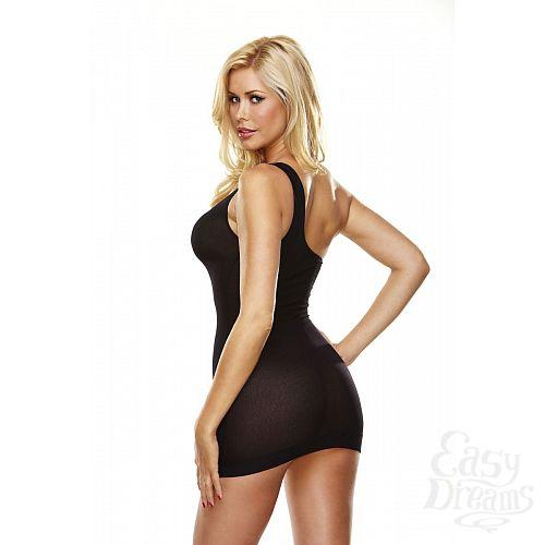 Фотография 5  Облегающее полупрозрачное платье на одной лямке