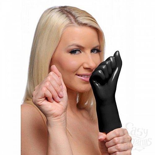 Фотография 2  Рука с вибрацией, сжатая в кулак, для фистинга - 20 см.