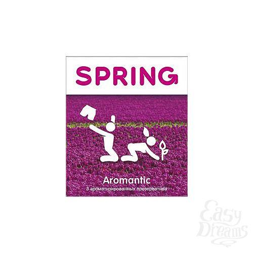 Фотография 1:  Ароматизированные презервативы SPRING AROMANTIC - 3 шт.