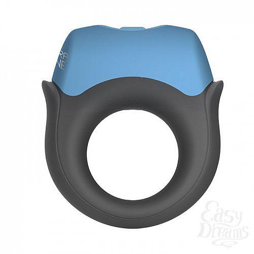 Фотография 1:  Эрекционное кольцо с вибрацией Polar Night Vibrating Silicone Cock Ring