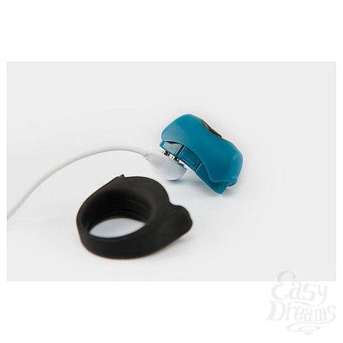 Фотография 4  Эрекционное кольцо с вибрацией Polar Night Vibrating Silicone Cock Ring