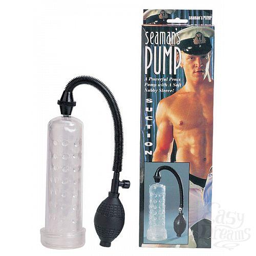 Фотография 1:  Вакуумный массажер-помпа для мужчин Seaman s Pump