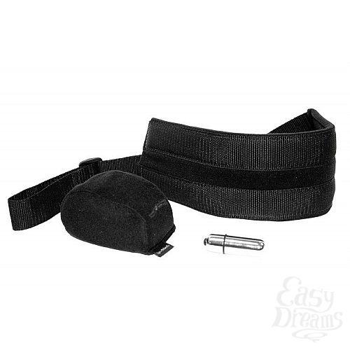 Фотография 1:  Поддерживающие ремешки с вибрацией S M Vibrating Doggie Style Strap