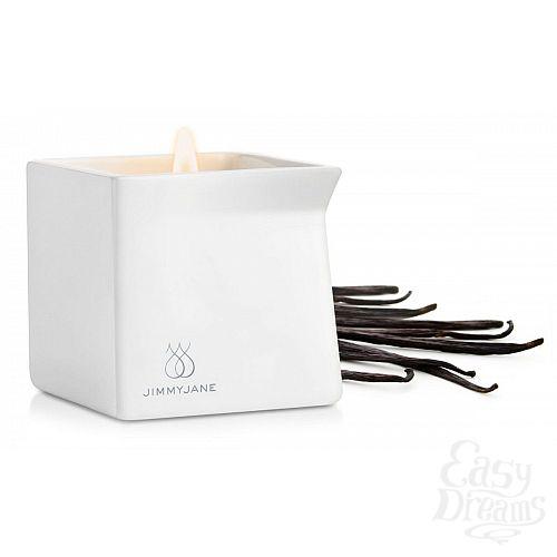 Фотография 1:  Массажная свеча JimmyJane Afterglow Massage Candle с ароматом ванили