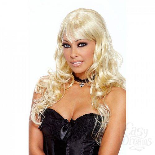 Фотография 1:  Кудрявый парик Luscious Blonde