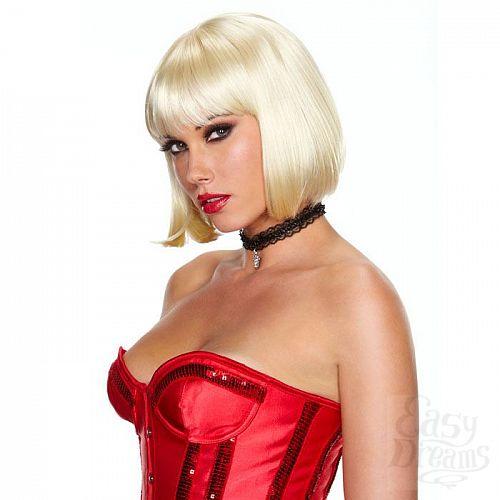 Фотография 1:  Каре цвета платиновый блонд Playfully Platinum