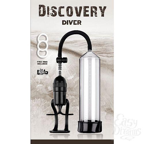 Фотография 2  Вакуумная помпа Discovery Diver - 24,5 см.