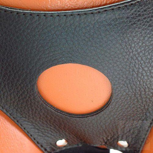 Фотография 3  Трусики для страпона коричневого цвета