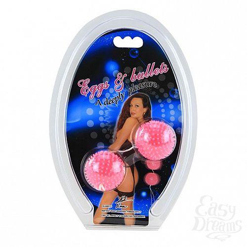 Фотография 3  Розовые вагинальные шарики Love Balls