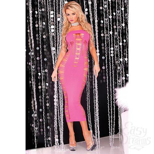 Фотография 1:  Длинное облегающее платье без бретелей BIG SPENDER SEAMLESS LONG DRESS