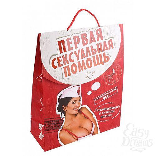 Фотография 1:  Пакет-конверт  Первая сексуальная помощь