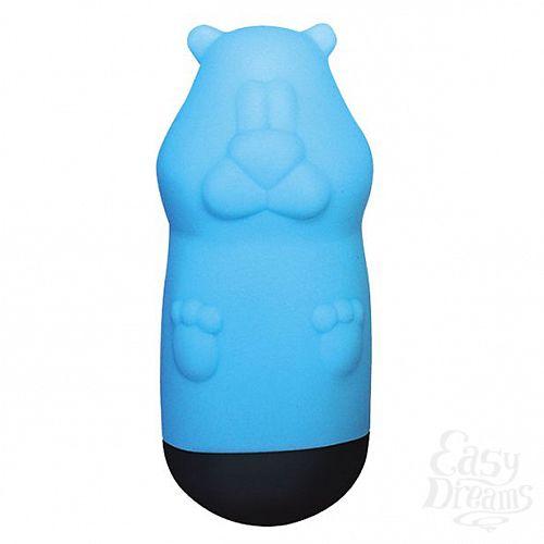 Фотография 1:  Голубой вибростимулятор Beat Up Vibes