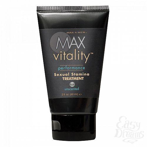 Фотография 1:  Крем для усиления потенции Max Vitality на основе травяной виагры