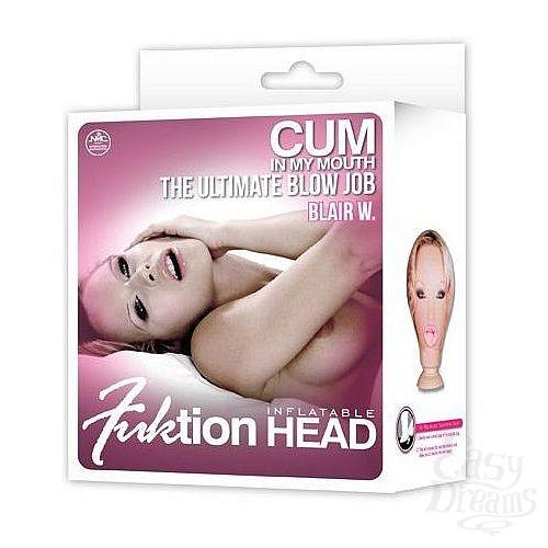Фотография 2  Надувная голова для фаллостимуляции