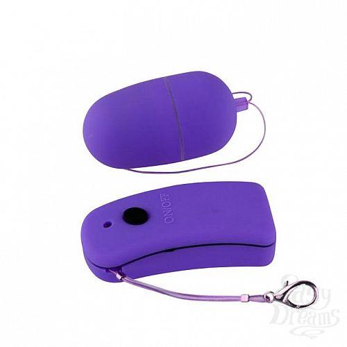 Фотография 2  Фиолетовое виброяйцо с дистанционным управлением