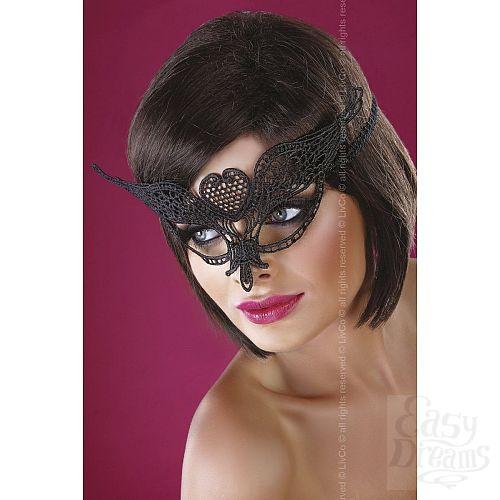 Фотография 1:  Ажурная маска с сердечком по центру