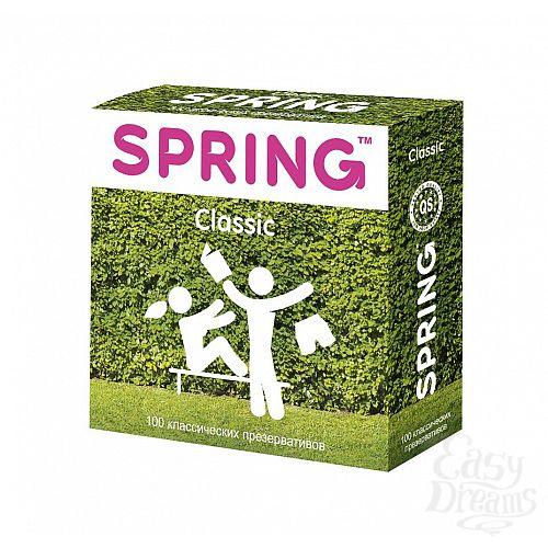 Фотография 1:  Классические презервативы SPRING CLASSIC - 100 шт.