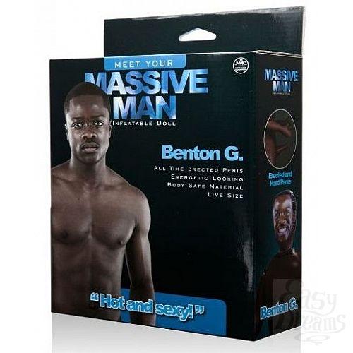 Фотография 2  Надувной секс-мужчина с фаллосом MASSIVE MAN BENTON G. LOVE DOLL