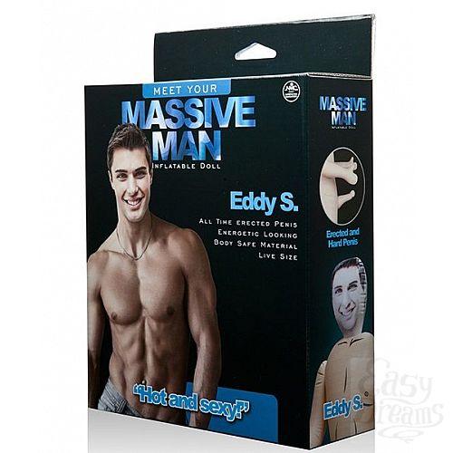 Фотография 2  Надувной белокожий секс-мужчина с фаллосом MASSIVE MAN EDDY S. LOVE DOLL