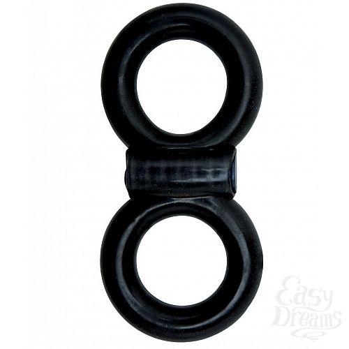 Фотография 1:  Эрекционное кольцо Adam Male Toys Cock   Ball Infinity P.O.P.