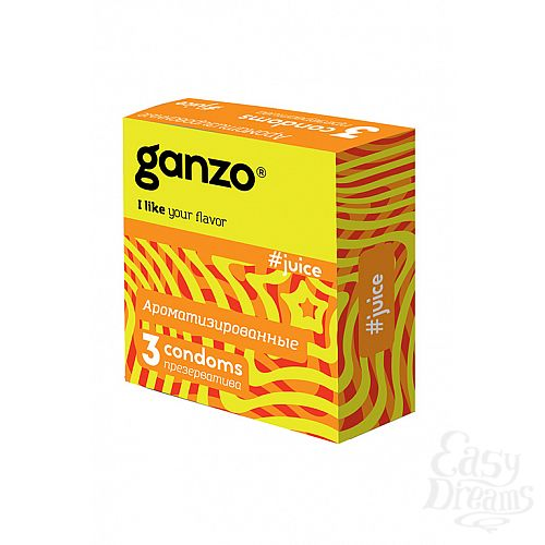 Фотография 1: ФармЛайн Презервативы Ganzo Juice № 3