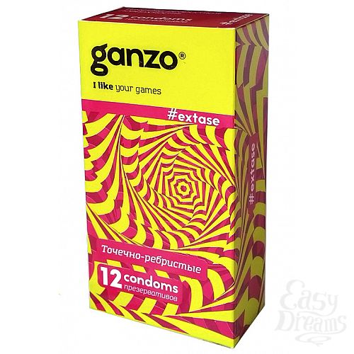 Фотография 1: ФармЛайн Презервативы Ganzo Extase № 12