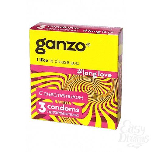 Фотография 1: ФармЛайн Презервативы Ganzo Long Love № 3