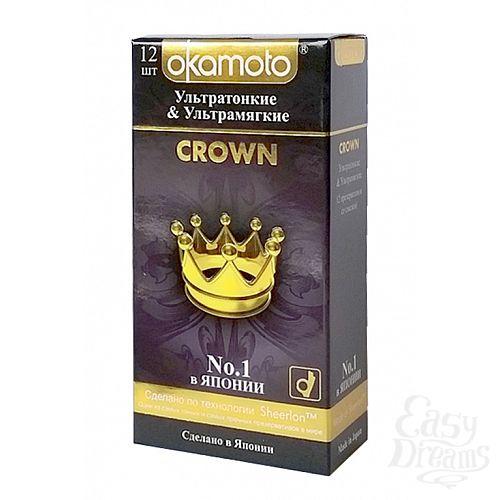 Фотография 1: ФармЛайн Презервативы Okamoto Crown № 12