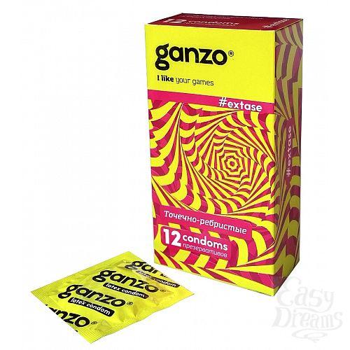 Фотография 1: Ganzo Презервативы GANZO Extase No12