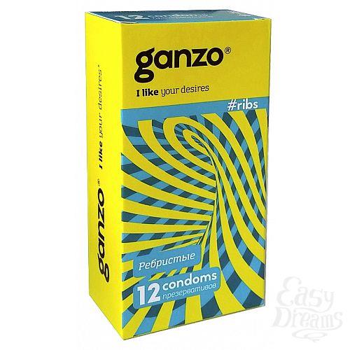 Фотография 1: Ganzo Презервативы GANZO ribs No12