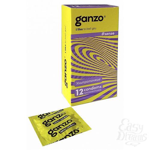 Фотография 1: Ganzo Презервативы GANZO Sense No12