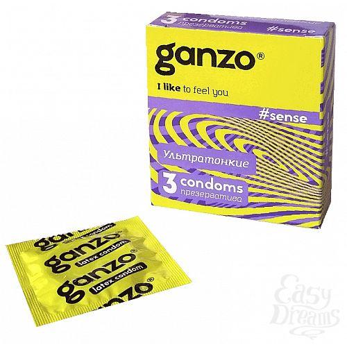 Фотография 1: Ganzo Презервативы GANZO Sense No3