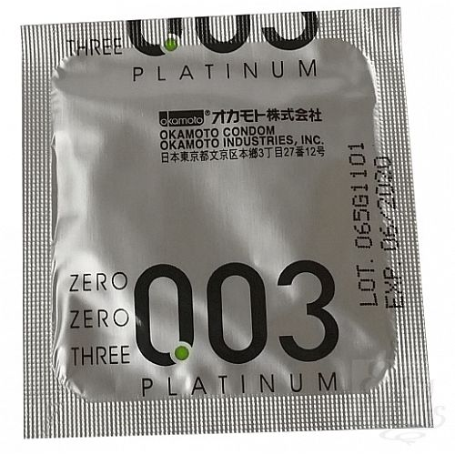 Фотография 2 OKAMOTO Презервативы OKAMOTO Platinum No10