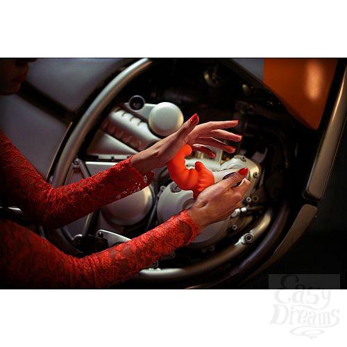 Фотография 5  Оранжевый вибромассажёр G5 Vibe MOODY - 18,8 см.