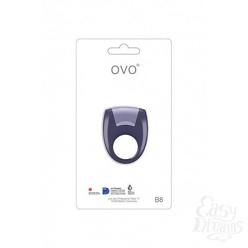 Фотография 1: OVO Вибромассажер  B8 VIBRATING RING LILAC