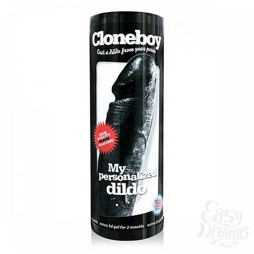 Фотография 1:  Набор скульптора для создания черной копии фаллоса Cloneboy