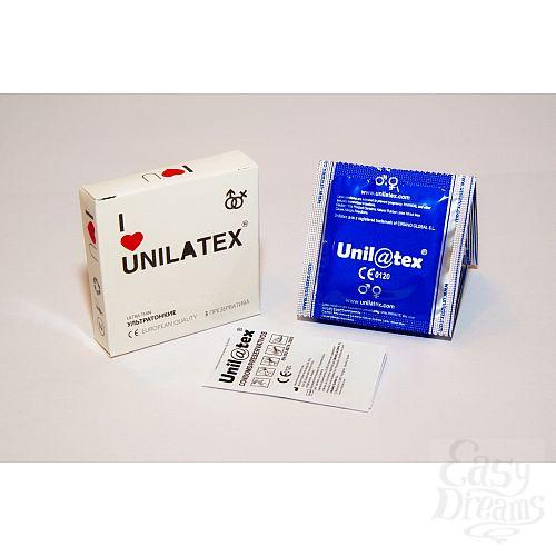 Фотография 1: Unilatex Презервативы Unilatex Ultrathin 3шт 3012Un