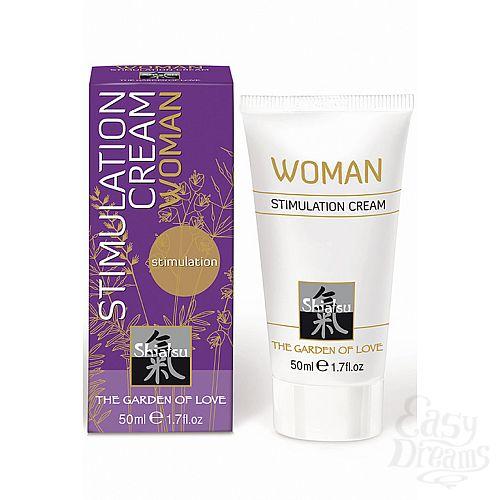 Фотография 1: SHIATSU Stimulation Cream woman крем стимулирующий для женщин 50мл