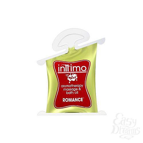 Фотография 1:  Масло для массажа Inttimo Romance с ароматом кедра и пачули - 10 мл.