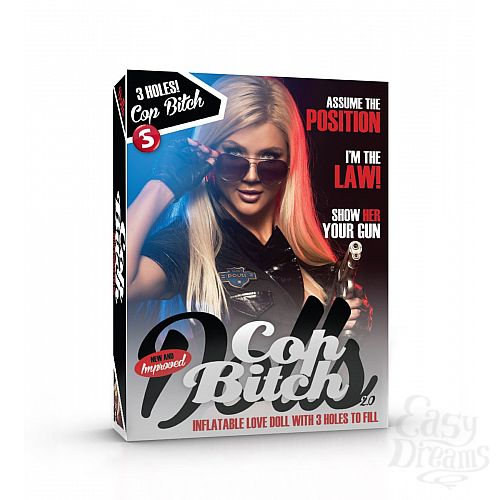 Фотография 2  Сексуальная блондинка Cop Bitch