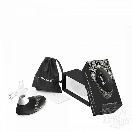 Фотография 4 Womanizer Стимулятор клитора Womanizer W500 Pro - чёрный Tattoo, Черный