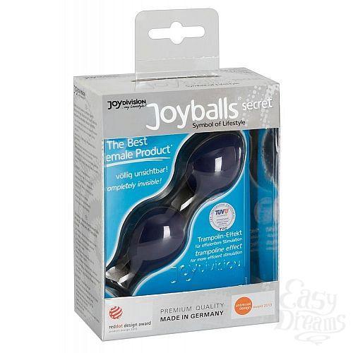 Фотография 3  Синие вагинальные шарики Joyballs Secret
