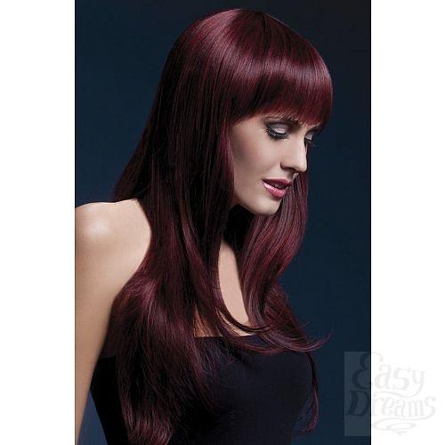 Фотография 1:  Вишнёвый парик Sienna