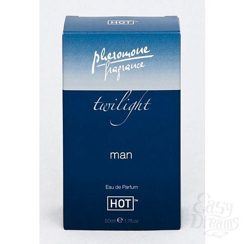 Фотография 2 HOT Production Духи для мужчин с феромонами Сумерки, 50 мл.