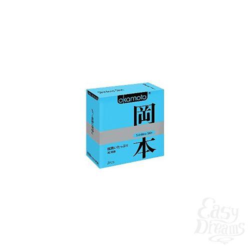 Фотография 1: OKAMOTO Презервативы OKAMOTO Skinless Skin Super lubricative   3 89696Ok